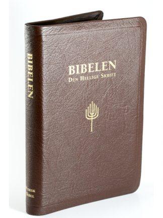Norsk Bibel - Storskrift - bokmål - geiteskinn