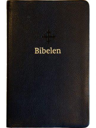 Bibel 2011 - mellomstor - sort skinn