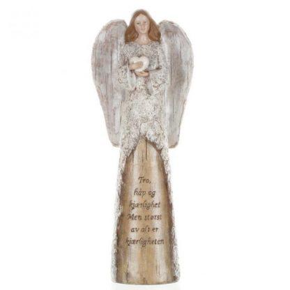 Engel m hjerte Tro Håp Kjærlighet