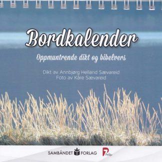 Bordkalender med dikt og bibelvers