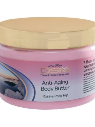 Antialdring bodybutter med Rose Essence