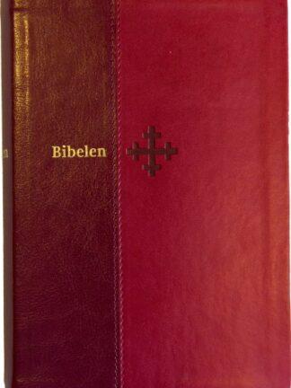 Bibel 2011 - mellomstor utgave i rødt kunstskinn
