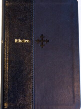 Bibel 2011 - mellomstor - mørk blått kunstskinn