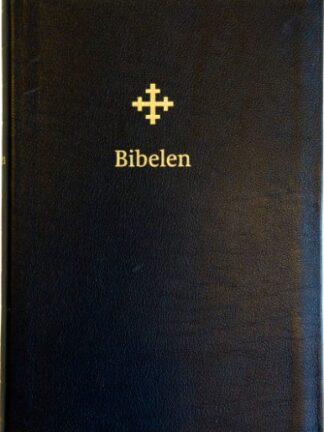 Bibel 2011 - stor - sort skinn med register